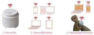 China 5.0M Wireless KOPA Microscope USB Digital Microscopes For iPad / Android on sale