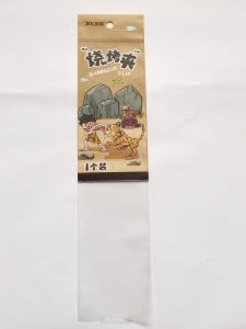 China Customized Matt OPP Plastic Header Bag Gravure Printing Surface Treatment on sale