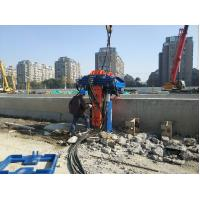 Suitable for 300mm-700mm h-beam piles One-piece Structure hydraulic vibro pile extractor in all models