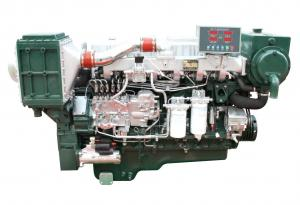 China High Speed 4 Stroke Diesel Engines With 4 Valves / Marine Boat Engine on sale