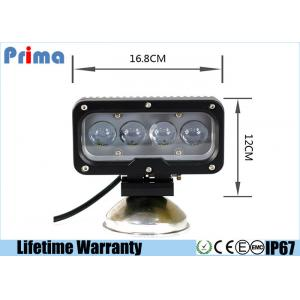China 7 Inch Cree LED Driving Light For 4 X 4 Vehicles 3600 High Lumen 40W Power on sale
