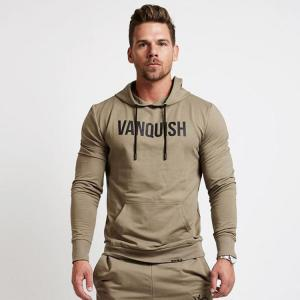 China Daily Wear Mens Designer Hoodies , Mens Pullover Hoodie 100% Cotton Material on sale