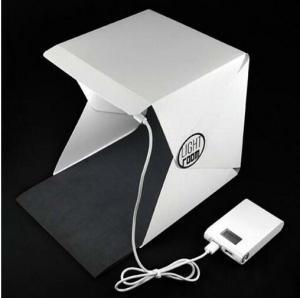 China Waterproof pvc mini portable light box for professional photography studio photos camera fotografica digital props acces on sale