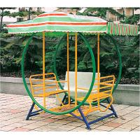 China Baby Swing Seat with Double Bench for Child in Park and Garden HAP-18306 on sale