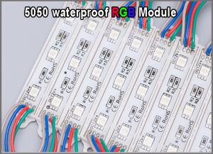 China High quality 5050 RGB LED Module 12V waterproof RGB modules lighting for advertisment signage on sale