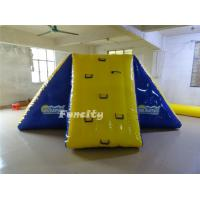 0.9mm PVC tarapaulin Commercial Inflatable Pool Toys Bouncy Water Slides For Amusement Park