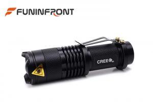 China Adjustable Focus SK68 CREE Zoom LED Flashlight MINI Size Using AA Battery on sale