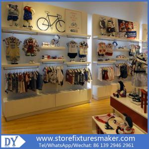 Quality Lovely Kids Clothes Shops   Manufactory Baby Kids Shop Display  Furnitures With For Sale ...