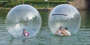 China Water Bounce Inflatable Human Water Walking Ball , Walking On Water Bubble Ball on sale