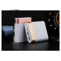 China Portable Charger 10400mAh Power Bank High-Speed 2 USB Ports with Flashlight External Battery on sale