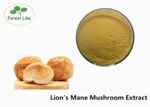China Pure Lion's Mane Mushroom Extract Powder 50% Beta D Glucan Antiviral on sale
