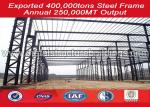 Modular large storage Steel Structure Warehouse building BV certified