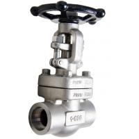 China Needle Disc Forged Steel Valve , Hand Wheel Valve Globe Valve With Standard Port on sale