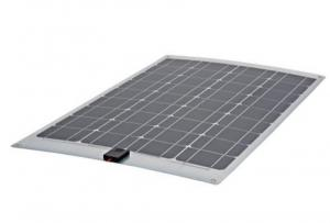 China High Output Semi Flexible Solar Panel 60w , Curved Solar PanelsWeather Resistant on sale