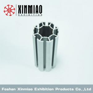 China Exhibition standard system,8 system grooves, Upright post for shell scheme booth on sale