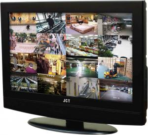 China HDMI 17 lcd surveillance camera cctv monitors PAL / NTSC with Panel Button on sale