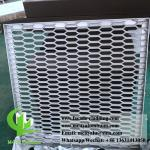 Metal Aluminum Expanded Mesh Screen For Facade Fence With Powder Coated