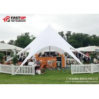 Custom Made Outdoor Shade Tent , 16M 150 People Star Hire Tents Flame Retardant