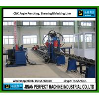 China High Speed CNC Angle Line For Punching, Shearing And Marking China Top Supplier on sale
