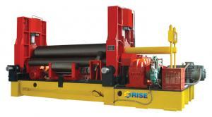 China W11 Series Hydraulic 3 Roll Plate Bending Machine Sheet Metal Pre - Bending 20×3000 on sale
