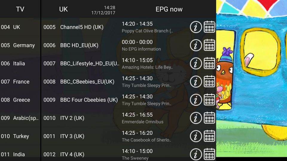 XTRIX TV Europe IPTV watch UK,Germany,Italia,France,Greece