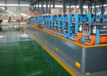 Automatic welded steel pipe production line/ERW tube mill machine