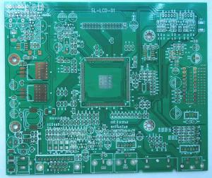 China HTG150-180 FR4 Multilayer 6 layer pcb board 0.2mm - 4.0mm ROSH on sale