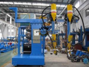China Cantilever H Beam Welding Machine / Submerged ARC Welding Machine on sale
