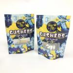 Mylar Foil Gushers Bags Herbal Incense Packaging Packing Pills Stand Up Pouch Custom Logo