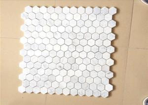 Hexagonal Honed Stone Mosaic Tile Marble Stone Chip 12 X12 Size For Sale Stone Mosaic Tile Manufacturer From China 108588865