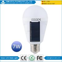 Portable Solar Panel Power LED Bulb Lamp Outdoor Camp Tent Fishing Light