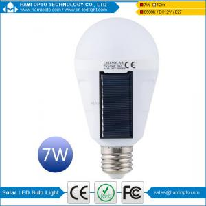 China Portable Solar Panel Power LED Bulb Lamp Outdoor Camp Tent Fishing Light on sale