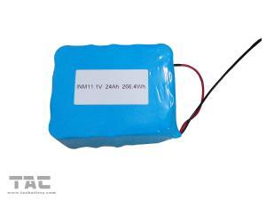 China Solar Street Light Lithium Battery Backup Li - Ion ICR26650 11.1V 24Ah on sale
