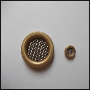 China Sus 304 Brass Edge Closed Wire Mesh Filter Discs on sale