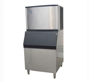 China 350kgs Ice Bag / Ice Cube Ice Making Machine For Restaurant / Coffee Shop on sale