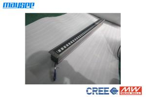 China Gray Color Led Outdoor Recessed Linear Wall Washer Inground Lights Energy Efficient on sale