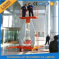 China Mobile Aerial Working Electric Lift Ladder Renting Scaffolding with 4 Wheels on sale