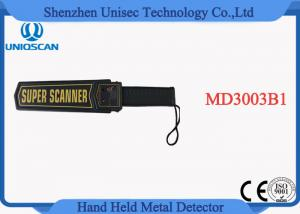 China High Sensitivity Super Scanner Hand Held Metal Detector MD3003B1 for airport on sale