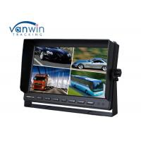 China Truck / Van / Bus TFT Car Monitor 24v 10.1 inch 16:9 digital rear view monitor 4 ways input / output on sale