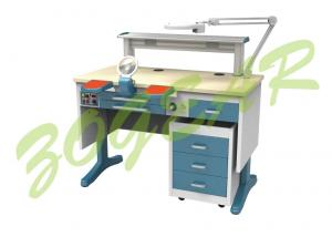 China Single Table Dental Laboratory Equipment , Dental Lab Workstation on sale