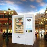 Automatic Combo Snacks Drinks Vending Machines , Kiosk Vending Machine With Large Capacity