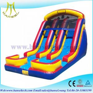 China Hansel inflatable playground balloon,inflatable water slides china,water play equipment on sale