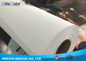 Quality Waterproof 320gsm Inkjet Cotton Canvas Roll for Large Format Printers for sale