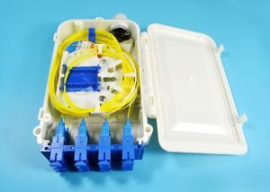 China 12 Port SC FTTH-020 Series fiber optic termination box 0.9mm 2.0mm 3.0mm Pigtail Diameter on sale