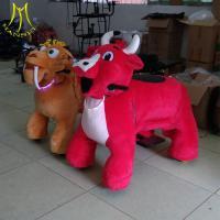 Hansel  China bearing 150kgs electric ride on horse plush electrical animal toy car