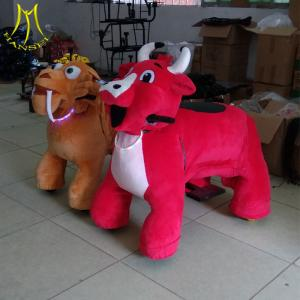 China Hansel  China bearing 150kgs electric ride on horse plush electrical animal toy car on sale