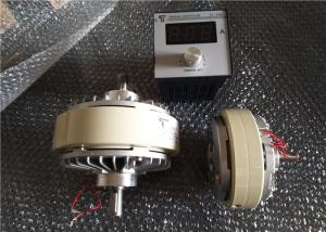 Quality Dual Axis Coupling Magnetic Particle Clutch 400NM 40KG Max Current 4A for sale