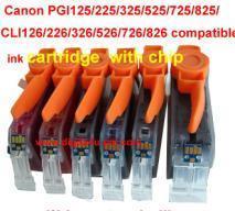 China Ink Cartridge PGI125 CLI126 on sale