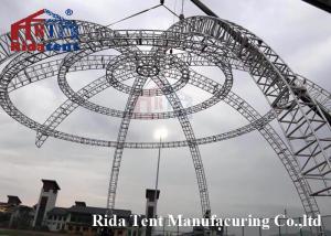 China High Strength LED Truss Lighting / Aluminium Building Truss Stage 8-10 M on sale