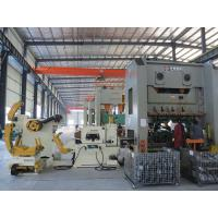 SS Sheet Metal Coil Feeder , 3 In 1 Feeder Stamping Process Automation